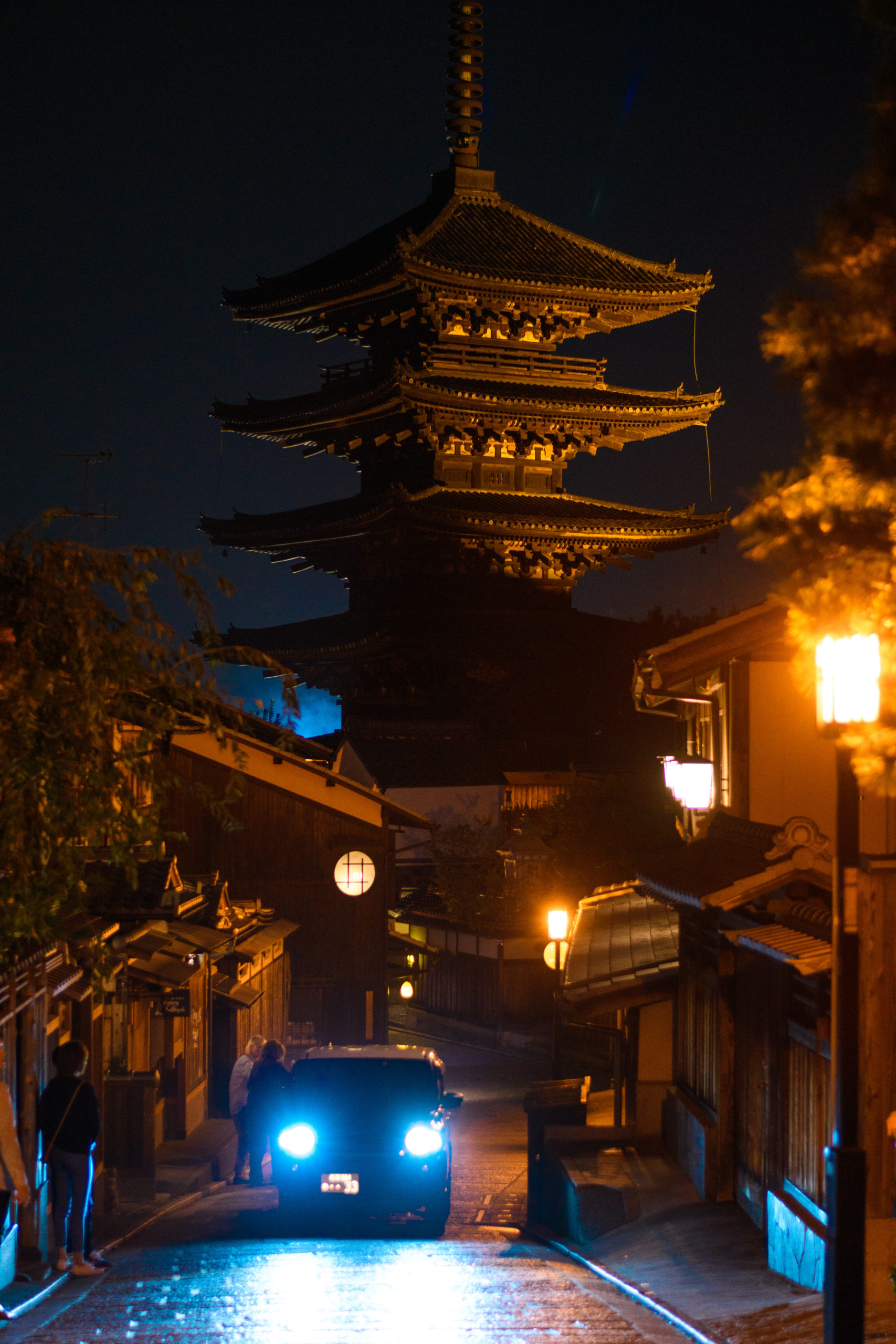Yasaka Pagoda, Gion, Kyoto, by John Monarch