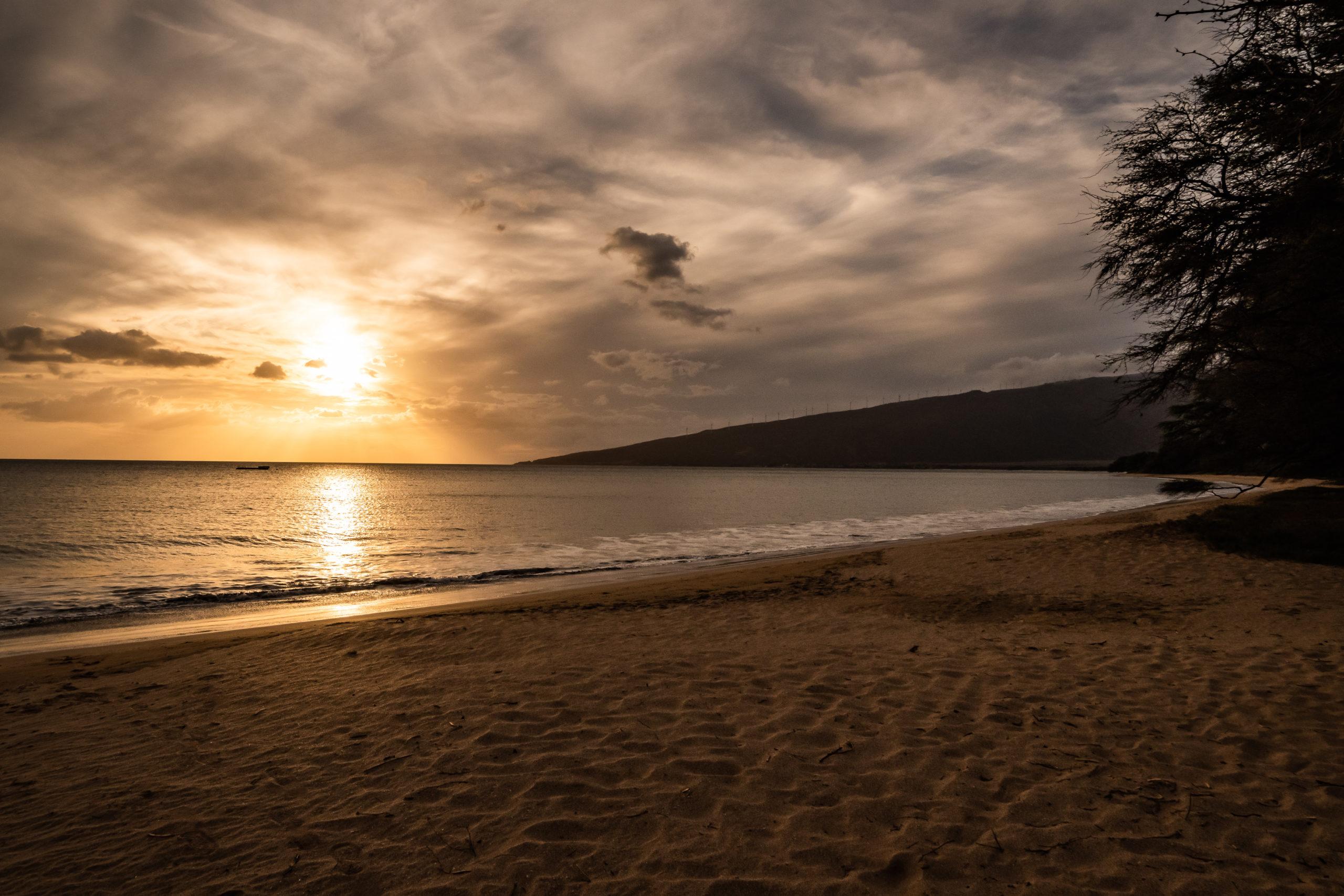 Beach Sunset, by John Monarch