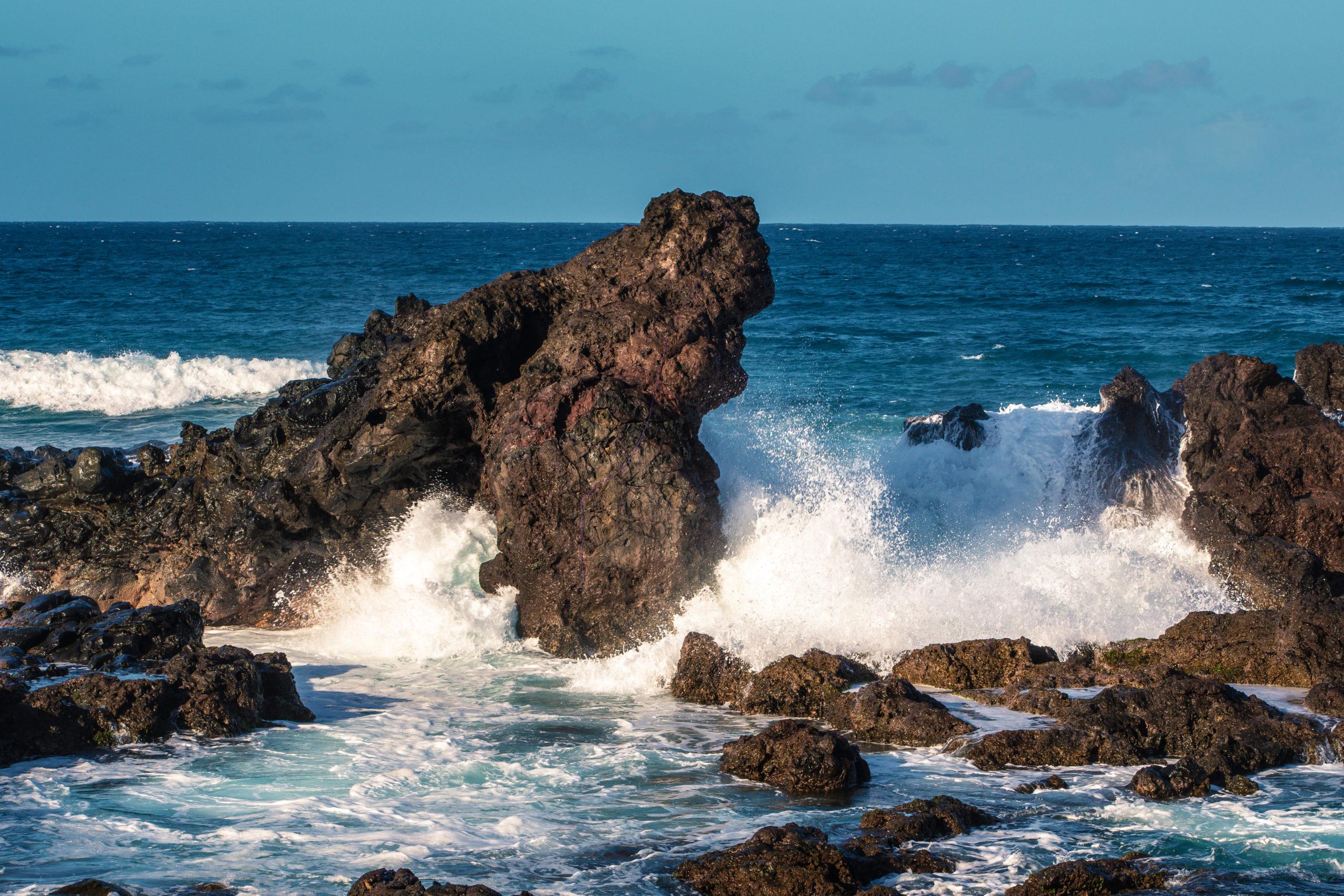 Crashing Waves, by John Monarch