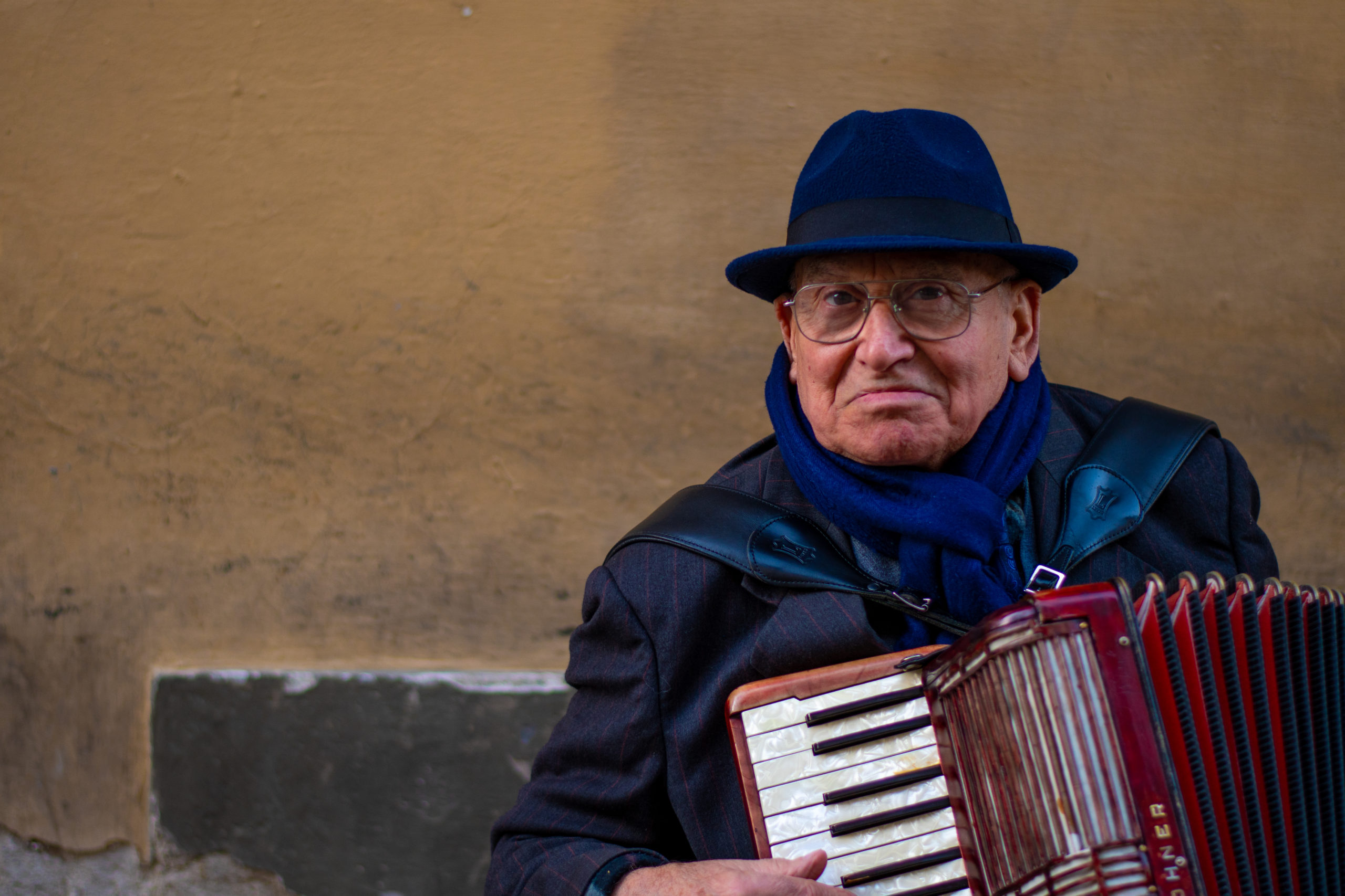 Florence Street Performer, by John Monarch