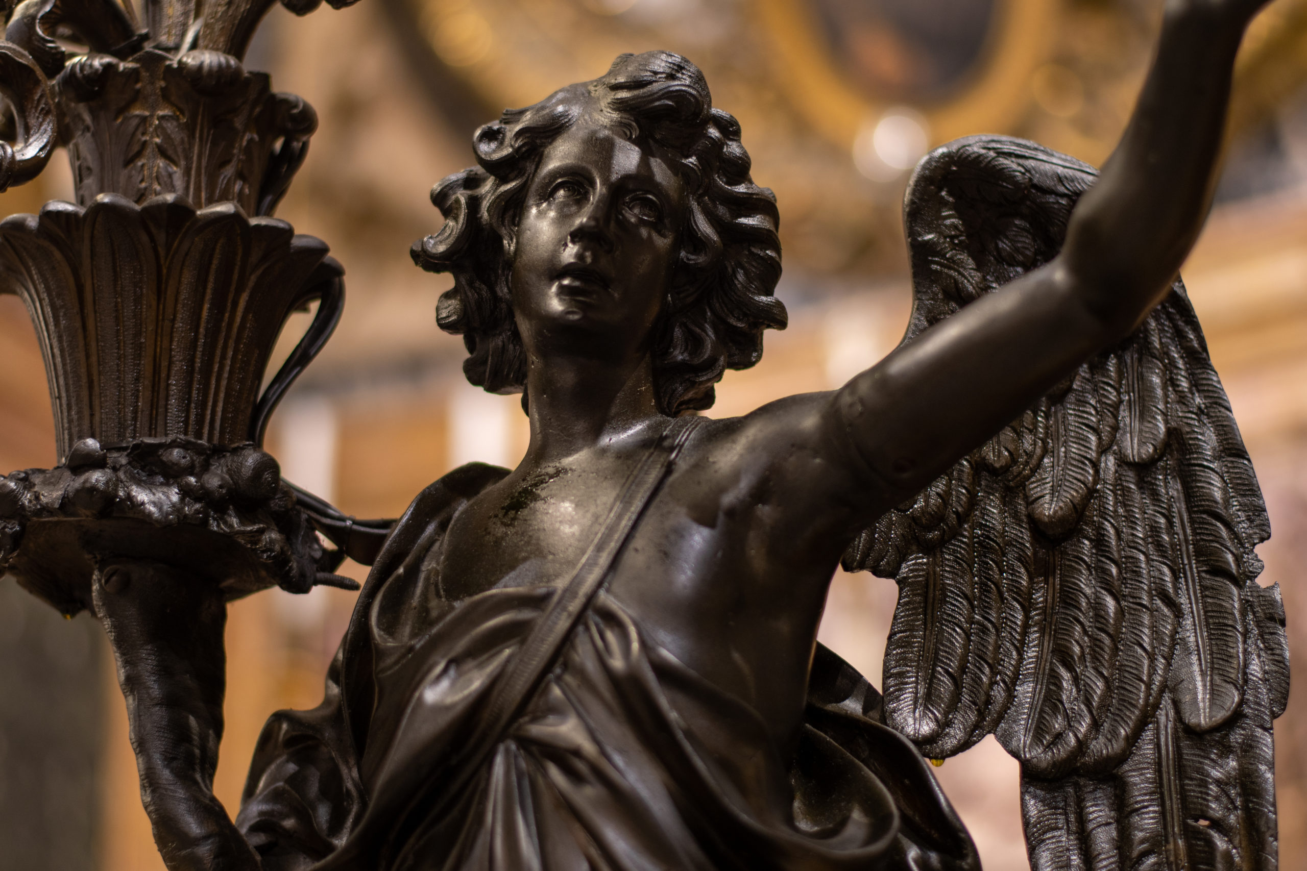 Saint Ignatius Cathedral Angel, by John Monarch