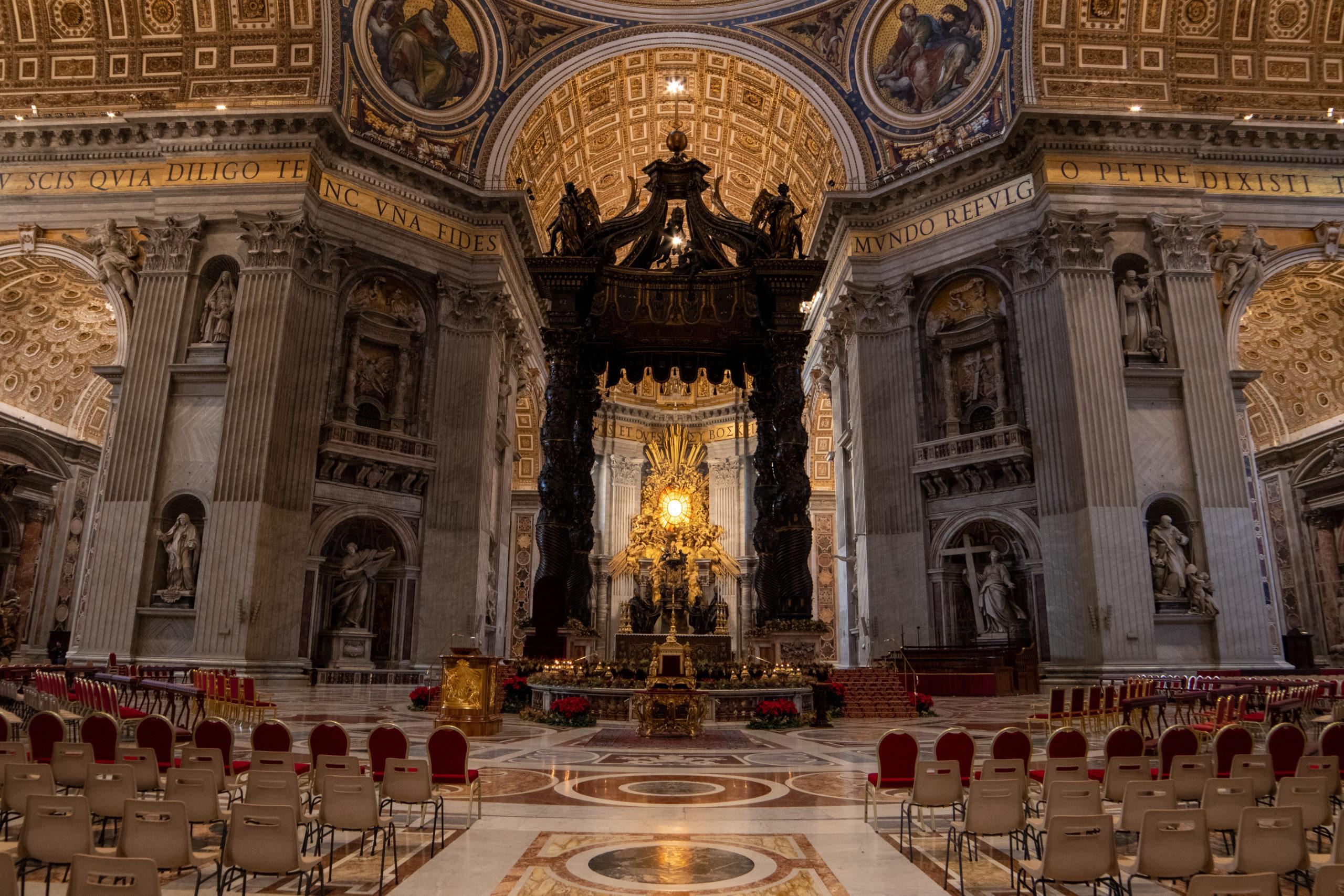 Altar of Saint Peter, by John Monarch